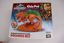 Chia Pet Jurassic World Indominus Rex - Handmade decorative planter - NEW