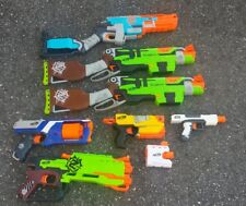 Lot of 7 Nerf Guns + Accessories - Star Wars - Zombie Strike - N Strike TESTED
