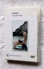 PILATES: THE POWER WITHIN (DVD) R-4, LIKE NEW, FREE POST WITHIN AUSTRALIA