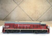 HO Scale Rivarossi Burlington #550 Locomotive Train Tested, No Box
