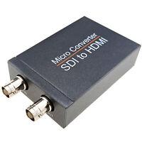 3G-SDI to HDMI Micro Converter SDI Loop Output 1080P 60Hz Broadcast Adapter 5V
