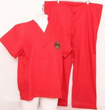 New Atlanta United Fc Cocepts Sport Red 2-Piece Scrubs Women's M Top L Pants