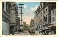 Salem MA Essex St. c1920 Postcard #5