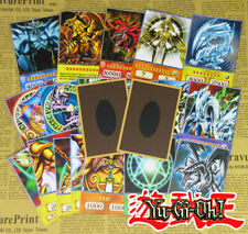 20pcs Yu-Gi-Oh! Anime Style Cards Dark Magician Exodia Obelisk Slifer Ra Yugioh