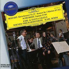W.a. Mozart - Piano Concerto No. 27 Concerto for Two Pianos K365 [New CD]