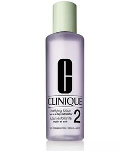 Clinique Clarifying Lotion 2 ~ 200ml/6.7oz ~ Dry Combination Skin NEW