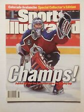 June 17, 1996 Sports Illustrated PATRICK ROY Colorado Avalanche NEWSSTAND - NM