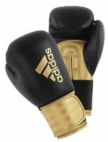 Adidas Hybrid 100 Gold Boxing Gloves Sparring Thai 8oz 10oz 12oz 14oz 16oz