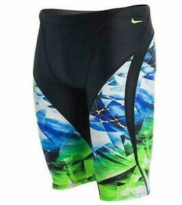 New With Tags NIKE SWIM Youth Kaleidotech Jammer NESS5006 Color 903 Size 22