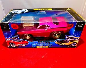 "NHRA 70 Cuda 1:18 Diecast MUSCLE MACHINES Drag Racing Car ""NO RESERVE"" Nascar"