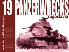 Panzerwrecks 19 Yugoslavia panzerzug t-34 Carro armato V Panther tempesta protetti particolare NUOVO