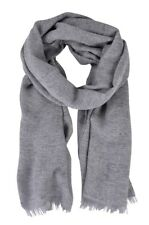 Emporio Armani  Sciarpa  Grigio lana seta poliammide 175cm x 63cm