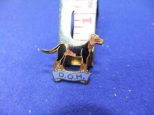 vtg badge doh otter hunt dumfriesshire hounds hunting supporter lapel est 1889