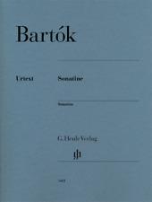 Henle Urtext Bartok Sonatine Piano Solo