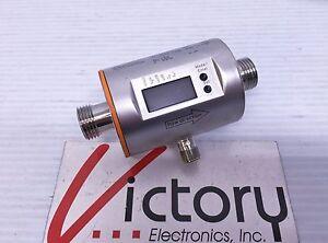 IFM Efector 300 Magnetic Inductive Flow Meter SM6004 IP 67 Monitor Sensor