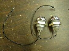 NOS OEM Ford 1964 1972 Truck Pickup Bumper Lamps 1965 1966 1967 1968 1969 1970 +
