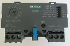 SIEMENS ESP200 OVERLOAD RELAY CATALOG NO 48ATE3S00 10-40 AMP ,600 VAC, 3 PHASE