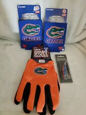 Florida Gators Gloves, Fishing Lure And Two Koolie Cups