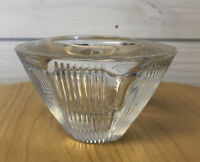 """Mikasa Vintage """"Oracle"""" Thick Crystal  5""""  Wide Top  Votive Holder"""