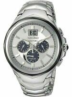 SEIKO SSC627 Men's Solar Chronograph Stainless Steel Watch