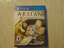 Brand New Arslan: The Warriors of Legend (Sony PlayStation 4, 2016) PS4