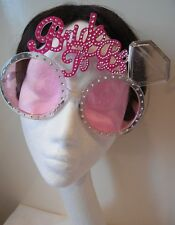 Hen night bride to be eye glasses Ladies Fancy party bridal accessory hot pink