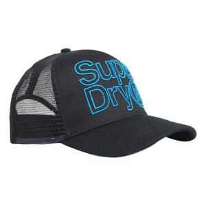 Superdry NEW Mens Lineman Trucker - Black BNWT