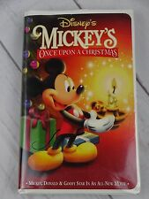 Disney's Mickey's Once Upon a Christmas (VHS, 2000) - V191