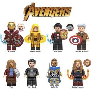 Avengers Endgame Ancient One Captain America Tony Stark Marvel Building Blocks