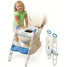 Baby U Cushie Step-Up - Padded toilet seat with step stool - Toilet training aid