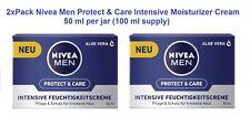 2xPack NIVEA MEN Protect & Care Intensive Moisturizer (50 ml each) *GERMANY*