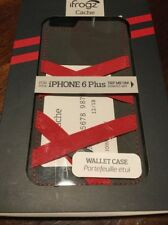 iFrogz Cache Cover for iPhone 6 Plus Wallet Case - Red – New in Packaging