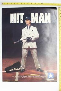 "DON MATTINGLY ""HIT MAN"" 17X23 CONVERSE POSTER MVP VERSION (1986)"