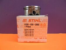PISTON AND RINGS FOR STIHL FS130 FS310 FS311 KM130 # 4180 030 2003 43MM OEM NEW
