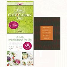 Ultimate Curry Bible Madhur Jaffrey Collection Slow Cooker Diet Recipe 3 Books