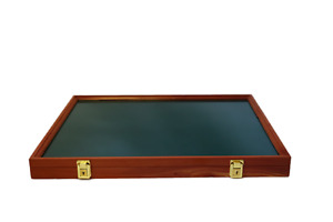 Cedar Wood Display Case 18 x 24 x 2 for Arrowheads Knifes Collectibles & More