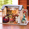 DIY Handcraft Miniature Project My Little Country Lodge In Christmas Dolls House