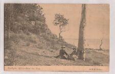 VINTAGE POSTCARD NEAR THE PIER, SANDGATE QLD 1907