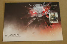 The Witcher 3: Wild Hunt - Stamp + Envelope - Polish Exclusive VERY RARE