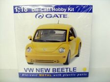 GATE 1/18 DIECAST KIT 06036 - VW NEW BEETLE YELLOW