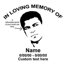 In Loving Memory Of, CUSTOM MADE, Vinyl Decal, Car Decal, FREE Shipping, Sticker