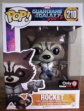 Funko Pop!: Marvel #210 GOTG Vol. 2 Rocket [GameStop Excl.] Mint/NIB w/protector