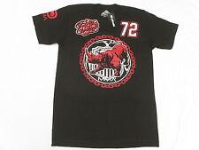 NWT Mens Ecko Unltd T-Shirt MMA 72 Rhino Graphic Print Tee Black Urban Sz M N123