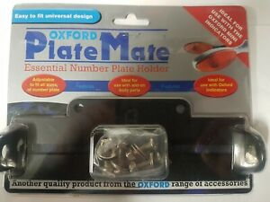 OXFORD PLATE MATE License plate holder