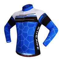 2016 New Casual Men Road Bike Team Cycling Long Sleeve Top Jersey Bicycle Jacket