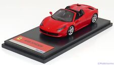1:43 Fujimi Ferrari 458 Spider 2011 red