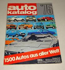 Autokatalog Nr. 18 - Modelljahr 1975!