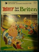 Sammler-Heft GROSSER ASTERIX BAND VIII Asterix bei den Briten 80er J. E.A. 1971