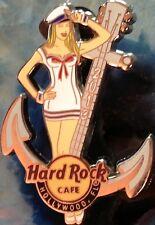 Hard Rock Cafe HOLLYWOOD FL 2013 ANCHORS AWAY PIN Sexy SAILOR Girl - HRC #72329