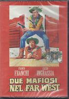 Dvd **FRANCO FRANCHI & CICCIO INGRASSIA ♥ DUE MAFIOSI NEL FAR WEST** nuovo 1964
